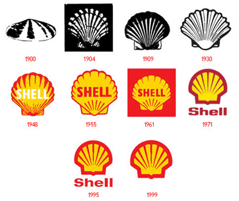 Logo_ontwikkeling_shell_in_de_loop_der_jaren_Blogbericht_Eigen_Gezicht